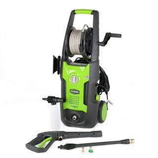 便携款高压水枪仅 $84.23限今天:GreenWorks 家用高压清洁用品 6折起特卖