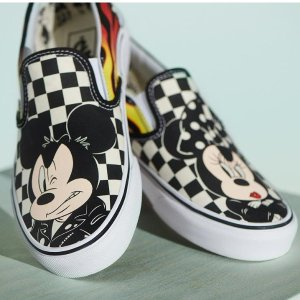 Starting from $14.99Vans x Disney clothing shoes sale @ Tillys