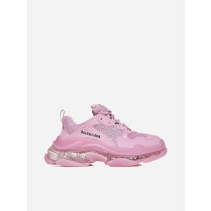 BalenciagaTriple S 新款透明底老爹鞋