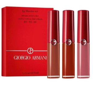 阿玛尼 最火爆口红3只装上架 含#200 #405 #501 全是热门色号