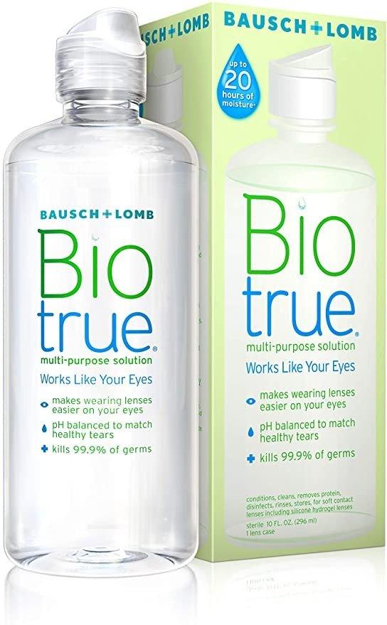 Biotrue 隐形眼镜护理液 10 Fl Oz