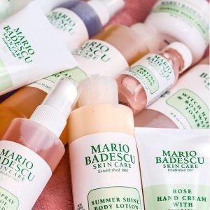 低至6折+送护肤3件套 €12收祛痘面膜Mario Badescu 油痘肌挚爱护肤 收祛痘小粉瓶套装、舒缓面膜