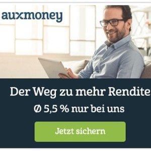 平均回报5.5%德国排名N0.1的个人借贷交易平台Auxmoney