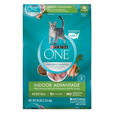 纯天然控制体重室内猫猫粮 16lb