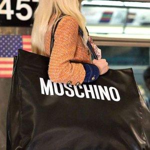 2折起+额外5折起 T恤$90收折扣升级:Moschino 潮服、包包、配饰新年超值热卖