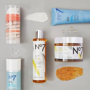 B2G1 + Free GiftsNo7 Beauty and Skincare Sale Sitewide