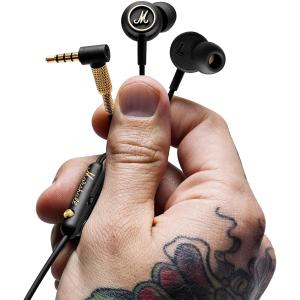 仅售€34.99 收经典线控耳机手慢无:Marshall EQ耳机 音质出色 小巧精致 白菜价入大牌