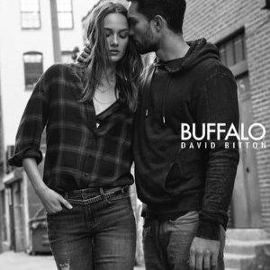 额外5折+满$150减$50+免邮最后一天:Buffalo jeans服饰特卖 牛仔裤$34 吉娜款上衣$12