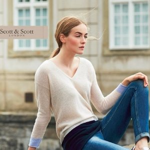 低至2.5折 伦敦品牌Scott & Scott 精选100%羊绒系列热卖