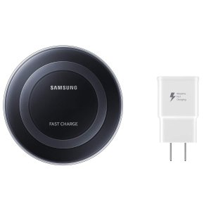 $18 Samsung Qi Fast Charge Wireless Charging Pad Kit
