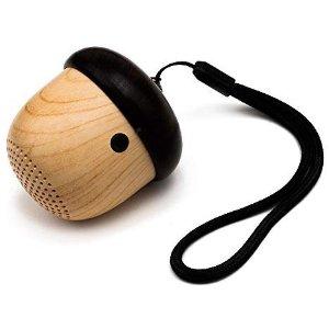 $14.99 (原价$25.99)JSAUX 橡果造型便携式蓝牙音箱