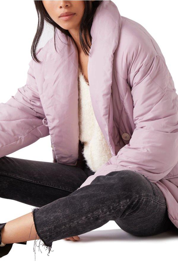 香芋紫棉服