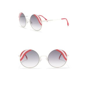 FendiRound 53mm Sunglasses