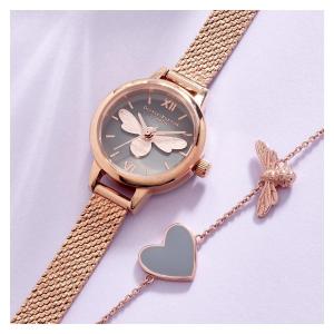 全线8折 小蜜蜂手链£48上新:Olivia Burton 英伦甜美腕表、手链、耳饰闪促