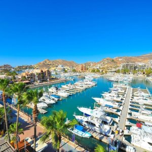 From $76Cabo San Lucas | Optional All-Incl. Marina Fiesta Resort & Spa