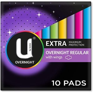 U by Kotex 夜用卫生巾 Pack of 10