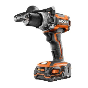 RIDGID 18-Volt Lithium-Ion Cordless Brushless 1/2 in. Compact Hammer Drill with (2) 1.5 Ah Batteries and 18-Volt Charger