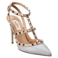 Valentino 铆钉高跟鞋