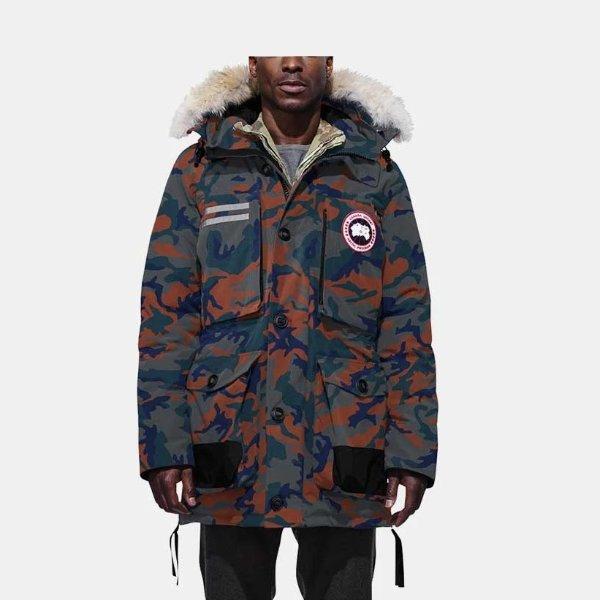 Macculloch Parka男士外套