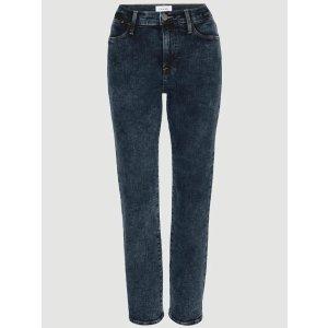 FRAMELE HIGH STRAIGHT TRUMBULL高腰直筒牛仔裤