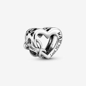 PandoraLove You Mum Infinity Heart Charm