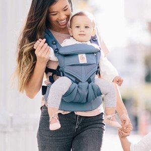 低至$89.95史低价:Ergobaby 婴儿背带特卖,收畅销款360、Adapt、Original