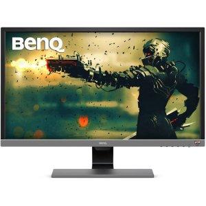 $299.99 支持FreeSyncBenQ EL2870U 28'' 4K 1ms HDR 电竞显示器