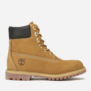 Timberland女士6 Inch Nubuck Premium 大黄靴