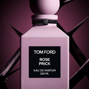 $410+送欧缇丽精华中样上新:Tom Ford 情人节限量玫瑰香水 花椒味超撩人