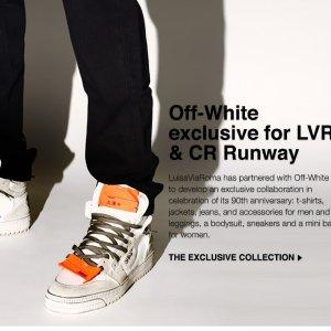 满额8.8折 £202收渐变箭头短袖上新:LVR X Off-White 合作款上市 女款男款都有 情侣装好选择