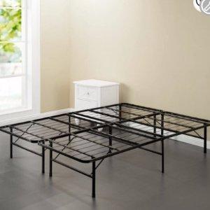 低至$54.76 包邮Spa Sensations 可折叠金属便携床架 多款大小可选