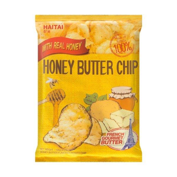 HAITAI海太 蜂蜜黄油薯片 加量版 120g