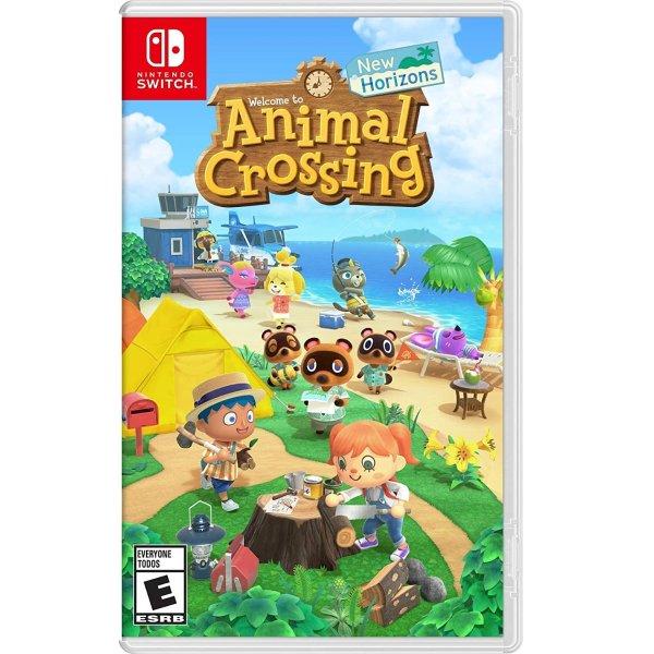 《动物森友会》Nintendo Switch 实体版, 支持简体中文