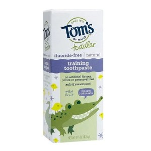 Tom's of Maine Mild Fruit Natural Toddler Training Toothpaste - 1.75oz