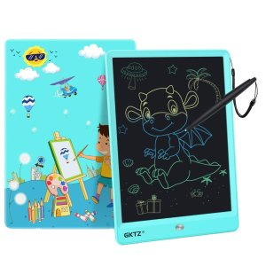 GKTZ LCD Writing Tablet for Kids 10 inch Electronic Drawing Pads