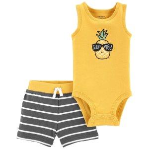 Carter's婴儿菠萝两件套