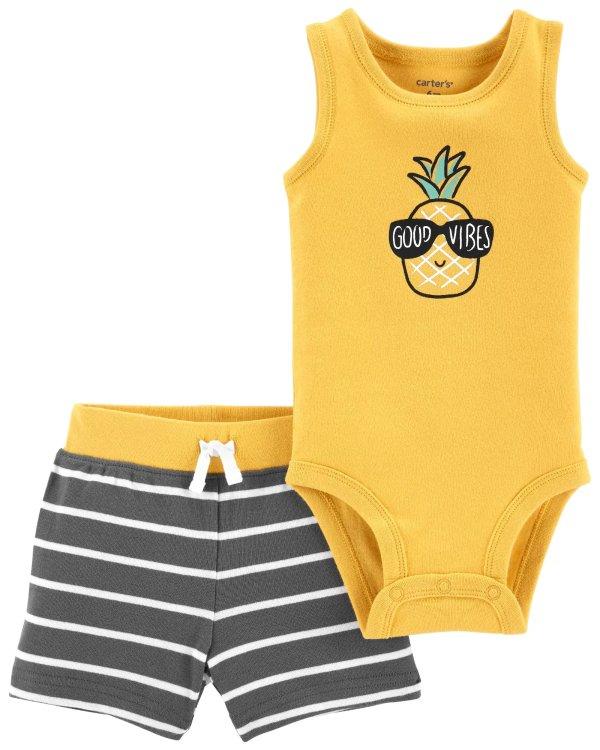 婴儿菠萝两件套