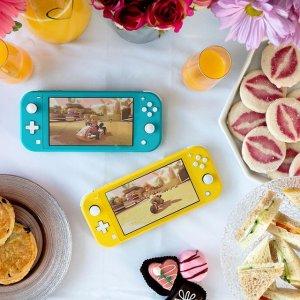 低至$295 粉色款有货任天堂 Switch Lite 掌上游戏机