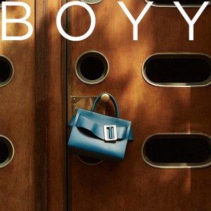 无门槛8.5折 经典款小号€659收独家:BOYY 精选美包美鞋热卖 你还差这一只小众包