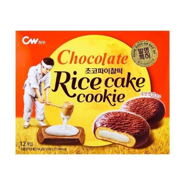 CW 巧克力年糕夹心饼 12枚入 258g