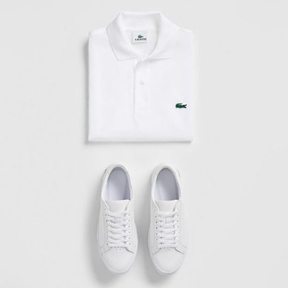 Receive a free Lacoste notebook