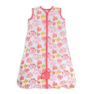 Burt's Bees BabyBeekeeper™ Rosy Spring Floral Organic Baby Wearable Blanket