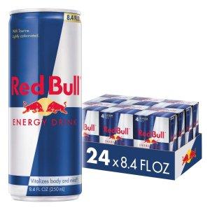 Red Bull原味能量饮料 8.4 Fl Oz 24罐