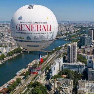 低至6.7折 多种套餐可选Ballon de Paris Generali 热气球观光 是时候俯瞰巴黎美景了