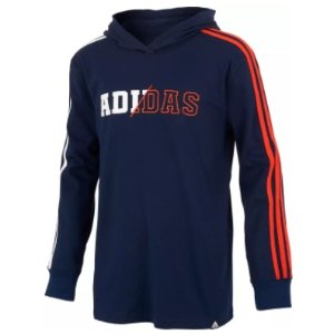 adidas Boys' 3-Stripes Collegiate Hoodie