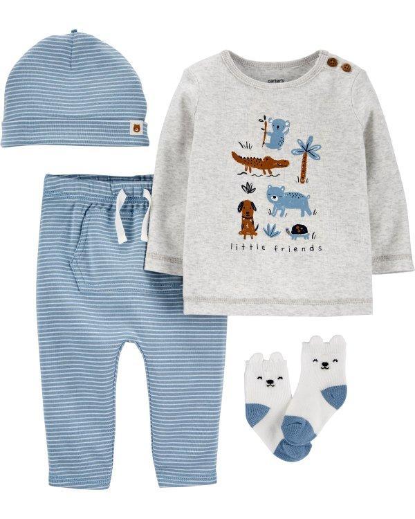 婴儿熊宝宝4件套