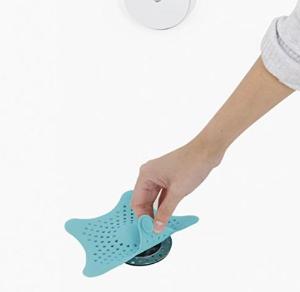 $3.74(原价$10)凑单佳品Umbra Starfish 海星浴室/面盆地漏盖 有效阻挡毛发杂物堵塞~