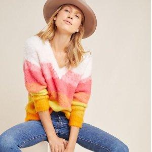 低至6折 封面也有anthropologie 新品正价毛衣限时促销