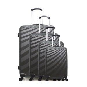 行李箱4件套 灰色