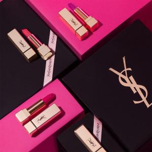 低至8折YSL 美妆护肤香水热卖 收新款水光唇釉、圆点小金条